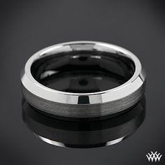 Mirror Edge Wedding Ring by Benchmark