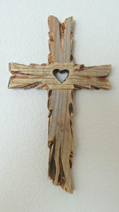 Rustic Wooden Reclaimed Weathered and by InspirationalCrosses