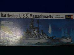 battleship uss massachhusetts 1720 scale plastic revell model kit revell - Revell Night Color