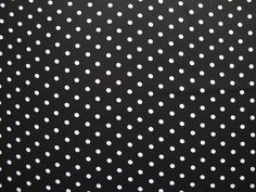 Fabric Godmother - Laura Spot  Cotton Stretch- Black, £14.00 (http://www.fabricgodmother.co.uk/laura-spot-cotton-stretch-black/)