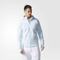 adidas Z.N.E. Capucha tejida con cremallera - Azul