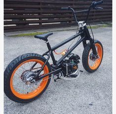 Bmx fitted with a semi-automatic please give us a call before - Mini Bike Craze Cafe Racer Moto, Moto Bike, Motorcycle Bike, Push Bikes, Bmx Bikes, Cool Bikes, Trike Scooter, Tricycle Bike, Mini Motorbike