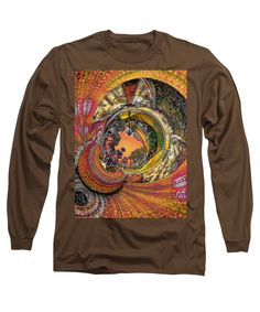 Monaco 1960s - Full Color, Orange - By Will Barger ~ Adult/Unisex Long-Sleeved T-Shirt - 13 Available Color Blends in Sizes S-3XL in 100% cotton, machine washable. ~~ SHOWN HERE (rough mockup) on COFFEE, with artwork zoomed in to fill the maximum print area. You can resize and/or move the art to suit your tastes. Printed only to your order and shipped worldwide by our production partner, Fine Art America with a 30-day, money-back, no-questions-asked guarantee.