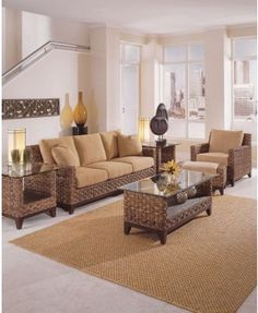 braxton culler tribecca collection seating group in java finish and neutral beige fabric