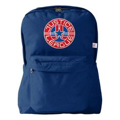 Justice League Logo American Apparel™ Backpack