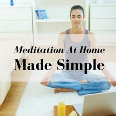 One of the things I love most about meditation is that I get to meditate at home. The best part is that you can choose the when and where you get to meditate.