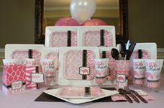 Girl Baby Shower Decorating Ideas | Pink Safari Baby Shower Ideas | Baby Shower Ideas