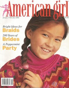 American Girl Magazine - January 1993/February 1993 Issue - Front Cover