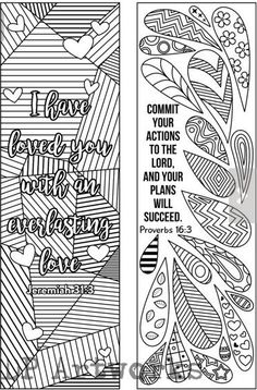 6 Coloring bookmarks #bookmarks #coloring