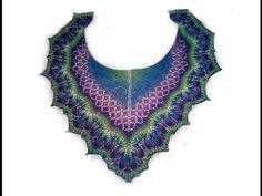 Как связать ажурную шаль Кири.Часть2/How to knit shawl Kiri.Part2 - YouTube