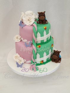 Sweet bag old fashioned sweets 30th birthday cake Little Bs Cake