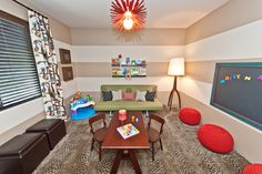 Kids Room by Laura Wiedmann Interior Design. Scottsdale, AZ.
