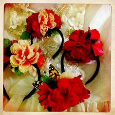 #DIY #flower #headbands