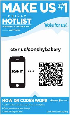 Vote for the Conshy Bakery for the #PhillyHotList!