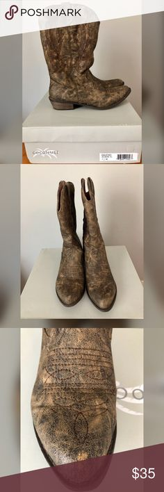 """Coconuts """"Gaucho"""" Cowboy Boots size 7.5 Coconuts """"Gaucho"""" Cowboy Boots size 7.5. Only worn once. The right boot does have a small scratch (as shown on photo #3).   Please contact me with any additional questions or offers! Thanks! Xo Coconuts Shoes"""