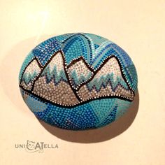Painted Stone by Unicatella