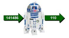 """Solución del acertijo """"El R2-D2 matemático"""""""