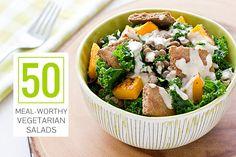 50+Meal-Worthy+Vegetarian+Salads