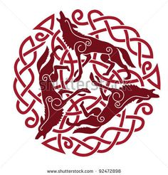 Illustration about Ancient Celtic Ornament of three horses. Illustration of stallion, sign, celtic - 19794036 Celtic Pride, Irish Celtic, Celtic Symbols, Ancient Symbols, Mayan Symbols, Celtic Knots, Egyptian Symbols, Viking Designs, Celtic Knot Designs