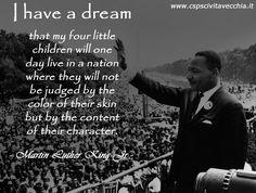 In ricordo di un grandissimo personaggio della nostra storia, di un uomo che sapeva e ha saputo guardare avanti prima del tempo. Un uomo che non ha perseguito solo il riconoscimento dei diritti della sua razza, che non ha lottato solo per l'emancipazione, ma un uomo che ha lottato per un radicale cambiamento di mentalità. #MartinLutherKing era proprio questo: il cambiamento, la libertà di pensiero, là libertà di espressione e la libertà di essere liberi di esprimersi sotto ogni forma.