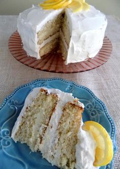 """What an easy peasy lemon cake recipe. It's sweet, tart, creamy and refreshing. This will be a big hit with everyone!"""