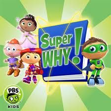 pbs kids Super Why..fairy tale adventure stories