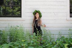 Leaf Crown by Kirsten Rickert