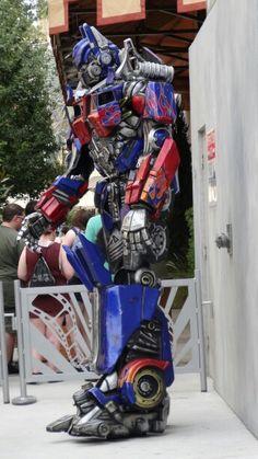 Optimus prime at universal studio Orlando