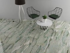 Calacatta Mint - EnergieKer Calacatta, Gold Art, Mint, Chair, Furniture, Home Decor, Gemstones, Decoration Home, Room Decor
