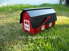 caixa de correio celeiro