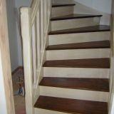 Renover Escalier Escalier Hetre Escalier Hetre Et Blanc Am Nagement Sous Escalier Coulissant
