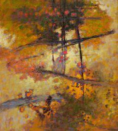 in golden light ~ oil on canvas ~ by rick stevens
