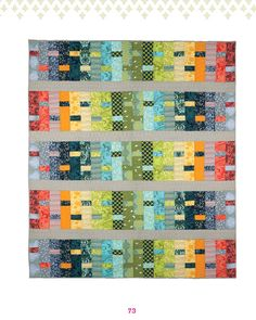 Dream Weaver Quilt from Tula Pink as seen at Sew Sweetness
