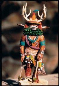 Hopi Kachina - shaman talk to scary spirits for me