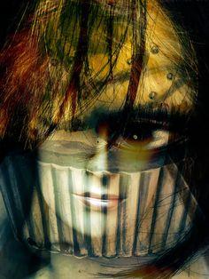 'The brown eye' von Gabi Hampe bei artflakes.com als Poster oder Kunstdruck $20.79