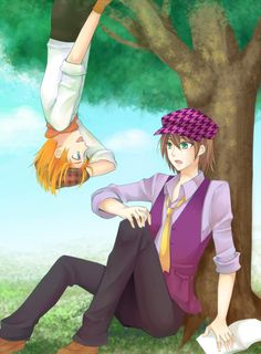 Cam and Ash from Tale of Two Towns --- These two are like brothers! They're so funny and adorable xD