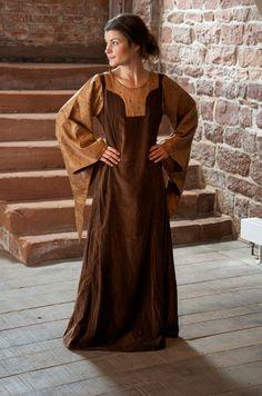 Kleid Geraldine in braun