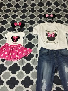 Minnie mouse birthday Outfits!