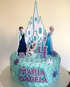 Since it was released, Frozen has not left the head of the children. And so many choose animation as their birthday theme. So we've selected dozens of Frozen Themed Birthday Cake, Frozen Theme Cake, Disney Frozen Birthday, Happy Birthday Cakes, Frozen Party, Themed Cakes, 4th Birthday, Bolo Frozen, Pastel Frozen