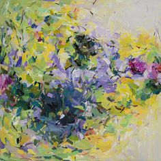 Garden 10-abstract art- print -spring- landscape- floral-wall art- home