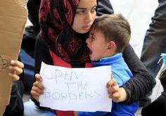 Resultado de imagem para refugiados na europa