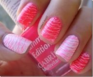Love zebra's    Pinterest nail art.com