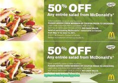e54a053f533c5e 50 Best McDonalds coupons images in 2013   Mcdonalds coupons, Food ...