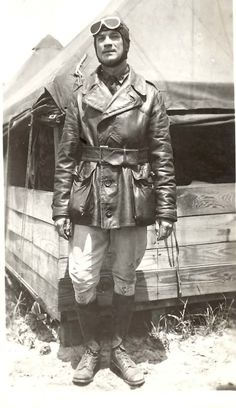 WWI fighter pilot stationed in France (aka my handsome great uncle Bob). If you repin, please delete the info in parentheses.  Great Uncle Bob is my great uncle, not anyone else's :)