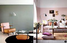 Rose quartz o rosa cuarzo en cualquier caso no perder de - Pintura para el salon ideas ...