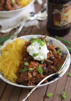 Spicy porter short rib chili