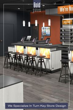 We create custom store designs at stock fixture pricing. We take your store floor plan, design a full color store rendering like the pin images. Then quote and manufacturer your unique store, it's easy! Drop us a email and we will get in contact with you. Visit our dedicated sites: bolddisplaycbd.com bolddisplayvape.com #storedesign #retailstoredesign #Vapestoredesign #instoredesign #storelayout #retailstoreinterior #wellnessstoredesign #storefixturedisplays #retaildesign Vape Store Design, Retail Store Design, Store Layout, Display Design, Plan Design, Floor Plans, Quote, Drop, Flooring