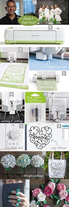 10ReasonsForCricutWithin one week, I knew it was my cutter of choice and the Silhouette went back in the box and was donated to someone who could use it. To give you the details, here are my top 10 reason why I am in love with my Cricut Explore!