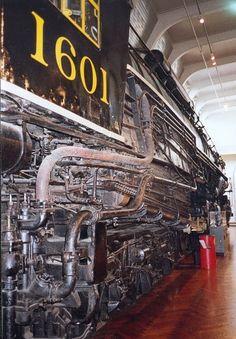 Allegheny steam locomotive