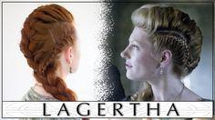 Vikings Hair Tutorial - Lagertha's Big French Braid Faux Hawk